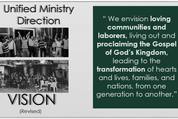 Unified Ministry Direction